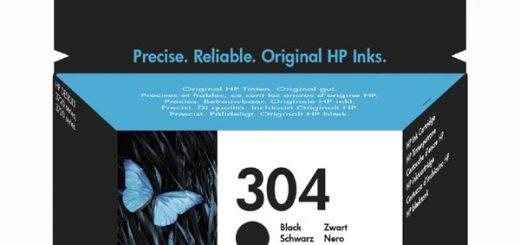 HP 304 černá N9K06AE