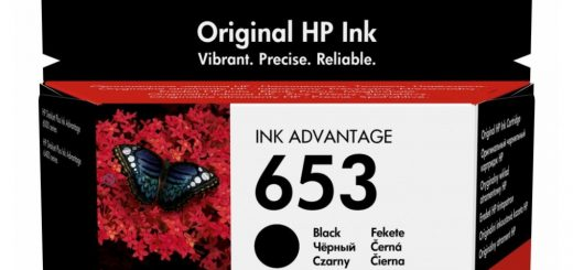 HP 653 černá 3YM75AE